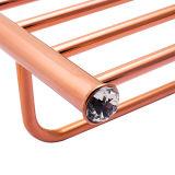 Premium латуни для установки в стойку и полотенце полки для ванной комнаты оформлены (BaQaZ2005-эль-RG)