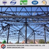Stahlkonstruktion-Halle für Werbung mit der Formung des Entwurfs