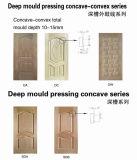 Peau de porte moulée HDF en placage de cendres, Peau de porte intérieure de Luli Group