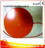Calentador de goma 160m m 12V redondo 120W del silicio