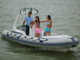 5.8m Inflatable Rib Boat, Fishing Boat Rescue Boat, Sale를 위한 Sport Motor Boat