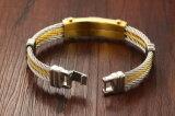 Chinagroßhandelsmens-TitanEdelstahl-Armband