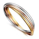 Braccialetto del braccialetto della lega delle donne di colore di modo 3