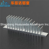 Profils en aluminium d'extrusion d'interruption thermique de matériau de construction