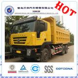 새로운 6X4 Hongyan Cousor 30ton Iveco 덤프 트럭