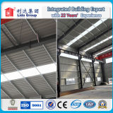 Span ancho Sandwich Panel y Corrugated Steel Structure Prefabricated Warehouse