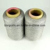 Cortar el hilado cubierto fibra de la resistencia UHMWPE para los guantes