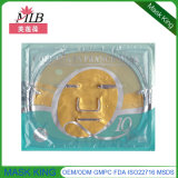 Anti Wrinkle Face Firming 24k Gold Collagen Crystal Face Lift Mask para cuidados com a pele