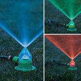 庭Lawn Irrigation 7 Color Changing (HT1040)のためのLED Sprinkler