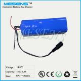 14.8V 5200mAh Li-Ionbatterie-Satz mit Zelle Samsung-18650