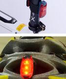 Indicatore luminoso d'avvertimento del sacchetto di banco della pupilla, braccio ed indicatore luminoso d'avvertimento dei piedini con la fascia del nastro e la clip magiche della penna, indicatore luminoso del casco, indicatore luminoso della bici