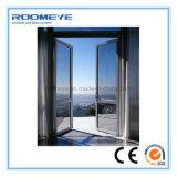 Roomeye 세륨 증명서를 가진 에너지 절약 알루미늄 단면도 여닫이 창 문