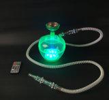 LEDが付いている工場製造の洗濯できる安い小型携帯用水ぎせる