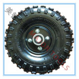 Gehen ein 10 Zoll-tiefes Block-Muster-pneumatischer Gummi Karren-Rad