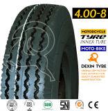 インドパターンMrfの三輪車のタイヤ3の荷車引きのタイヤのTuk Tukのタイヤ4.00-8