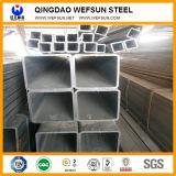 Tubo cuadrado de acero Pre-Galvanizado de la longitud de los 5.8m