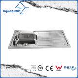 Boven de TegenGootsteen van de Keuken van Moduled van het Roestvrij staal (acs-10050A)