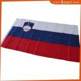 3x5 pies 68d de poliéster personalizadas al por mayor de la Bandera Nacional eslovena