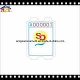 2017 biglietti accessori della stampa di divertimento della macchina del gioco della scanalatura