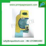 선물 노란 상자를 인쇄하는 Kraft 종이상자 과일을 인쇄하는 포장 상자 마분지