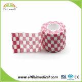Venda por grosso de adesivo de boa qualidade bandagem coesa elástica veterinária