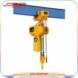 Élévateur à chaînes électrique utilisé essentiel électrique de 5 tonnes de matériau de construction d'élévateur à chaînes mini