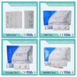 Cassette de la prueba de Mdma, tira de prueba de la droga de la orina, prueba de la droga, prueba rápida, prueba del panel