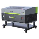 Es-9060 láser de CO2 de escritorio de cuero tejido acrílico grabado tallado de la máquina de corte