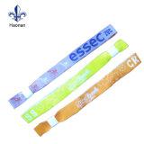 Cor de design criativo Personalizar Opcional Tecidos Wristban Trava Deslizante