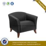 Presidenza di cuoio semplice ufficiale del sofà/presidenza svago dell'ufficio (HX-V051)