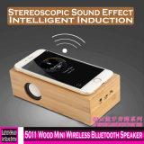 Altoparlante senza fili di legno di 5011 mini Bluetooth