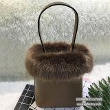 Sacs de main de fille de loisirs de sac d'épaule de femme de mode de sacs de dames de fourrure avec le prix bon marché Sh201