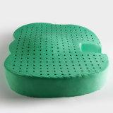 Coussin de portée mou de latex réel vert de Comforterable