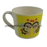 Tazza sana ambientale di vendita calda del latte della tazza di bambù naturale della fibra con la maniglia