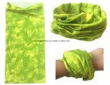 中国の工場OEMの農産物は印刷された多機能の継ぎ目が無いバンダナHeadwearをカスタム設計する