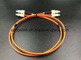 Faser-optisches Steckschnür Sc-Sc Duplex, mm für aus optischen FasernDÜ-System