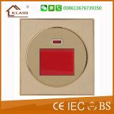 переключатель 1g и электрическое гнездо 2 Pin