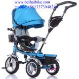 Nuevo triciclo de 4 del bebé in-1 niños elegante del triciclo con el certificado del Ce