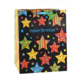 誕生日の星の衣類のおもちゃのケーキの店の方法ギフトの紙袋