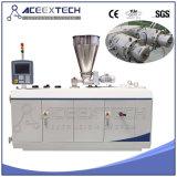 Máquina del tubo doble del PVC con el regulador del PLC