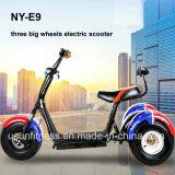 Tubless 타이어 큰 호퍼 드럼 브레이크를 가진 전기 화물 Trike 헤드라이트