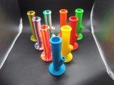 Cachimba del tubo que fuma del agua del silicón con Downstem de cristal y el tazón de fuente de cristal