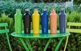 200 450 700ml modificaron la botella de agua Hip aislada pared de la cola para requisitos particulares del matraz del Thermos más barato del precio de la taza de los deportes del recorrido del café del acero inoxidable del doble del águila de la inflamación de Corkcicle