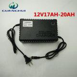 12V de slimme Lader van de Batterij van het Lood Zure die voor Elektrische Fiets 17-20ah en Auto wordt gebruikt