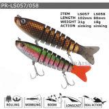 Pr-Ls057/058 a personnalisé l'attrait en plastique de flottement de pêche de vairon dur