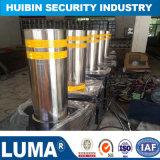 Custom souple de haute qualité en acier inoxydable 304 bollard d'avertissement de trafic