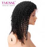 Peluca brasileña del pelo del pelo humano de Dropshipping de la peluca rizada rizada del cordón