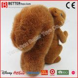 Het goedkope Zachte Speelgoed vulde het Dierlijke Stuk speelgoed van de Eekhoorn van de Pluche voor Jonge geitjes