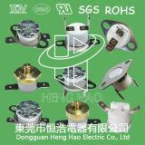 電気水鍋のための熱排気切替器スイッチ