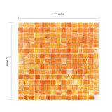 De Tegel van het Mozaïek van het Gebrandschilderd glas van de Badkamers van de Decoratie van de muur voor Hete Verkoop